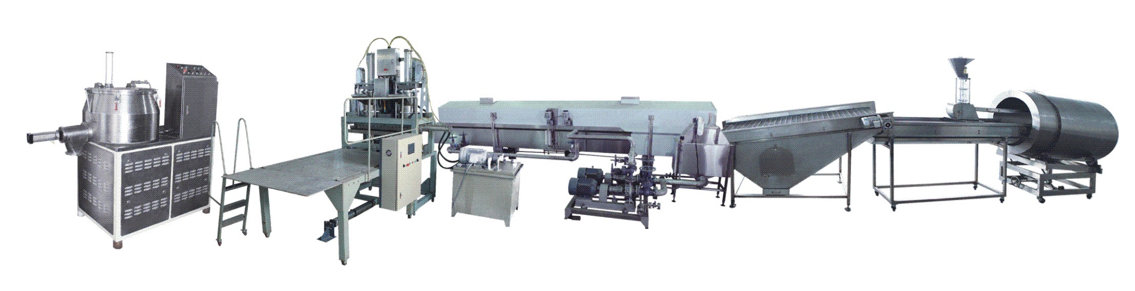 HANDYWARE sturdy construction double screw extruder supplier for food industry-10
