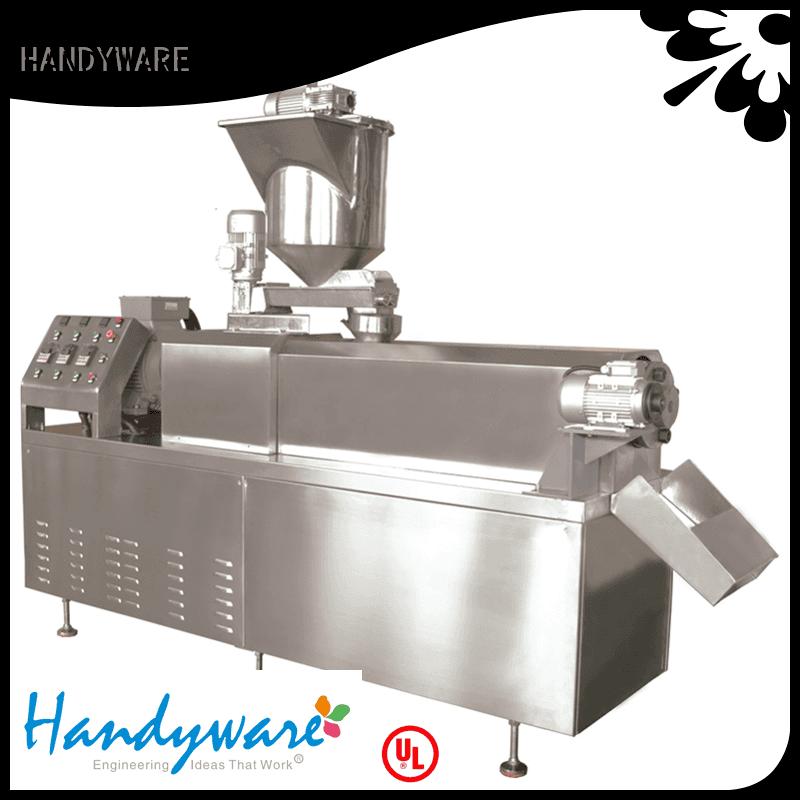 making extruder machinery HANDYWARE twin screw extruder