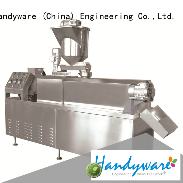 HANDYWARE puffed snack food making machine exporter for food industry