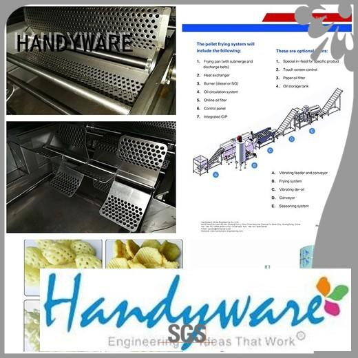 fabricated Custom without design industrial fryer machine HANDYWARE chips