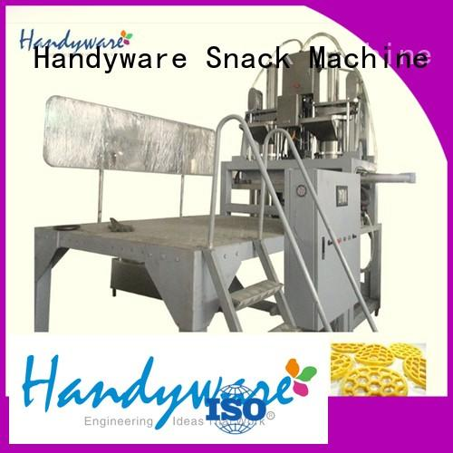 HANDYWARE Brand puffed hydraulic twin screw extruder manufacturers machinery supplier