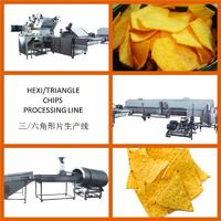 Hexagon Chips Processing Line