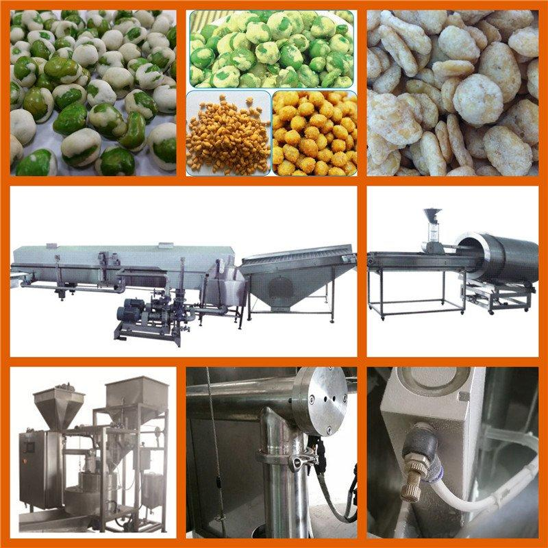 Automatic Coated Peanuts Processing Line