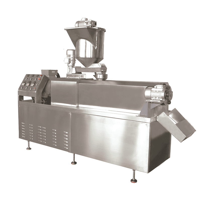 Direct Puffed Chips with fryer Processing Line