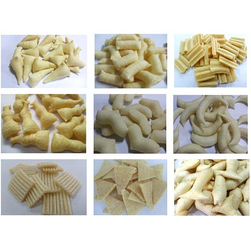 Direct Puffed Chips Processing Line