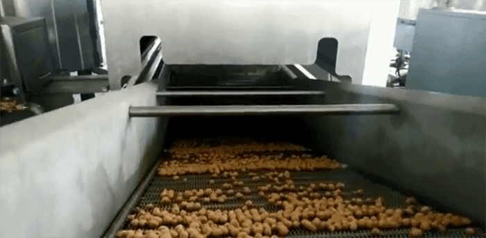 Coated Peanuts Processing Line