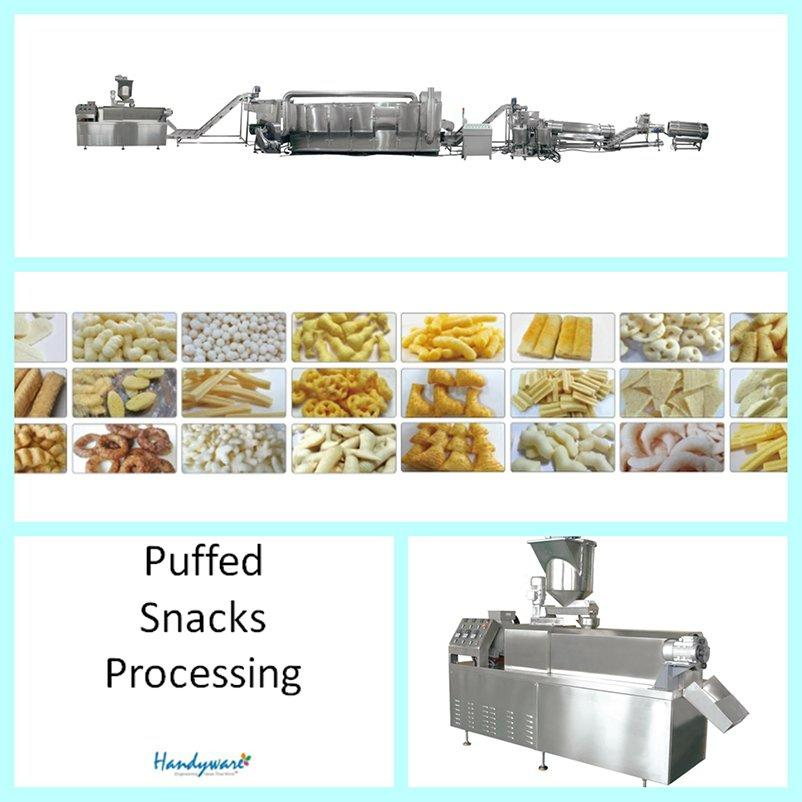 Direct Puffed Snack Food Baking Production Line