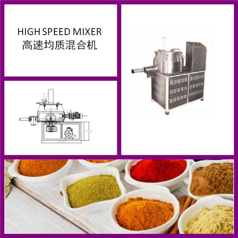 High Efficiency High Speed Homogeneous Mixer