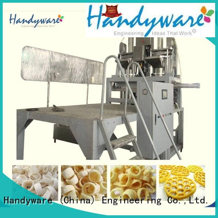 HANDYWARE puffed snack extruder machine supplier for business