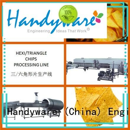 chips line automatic chips making machine hexagon processing HANDYWARE Brand