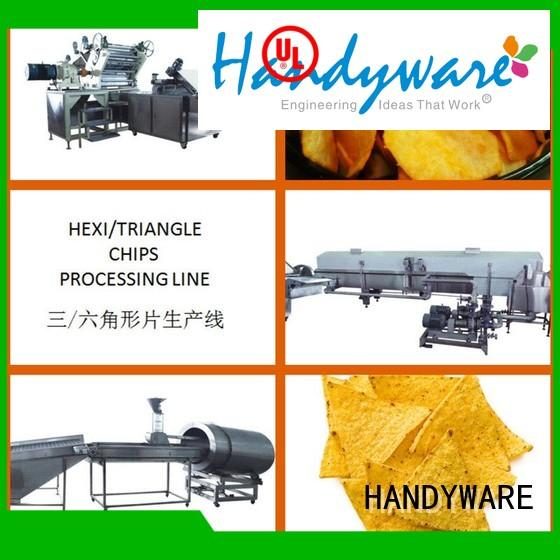 hexagon line automatic chips making machine potato chips HANDYWARE Brand