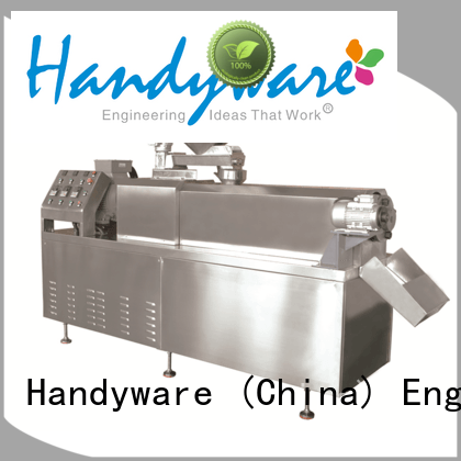 snack extruder machine puffed for food