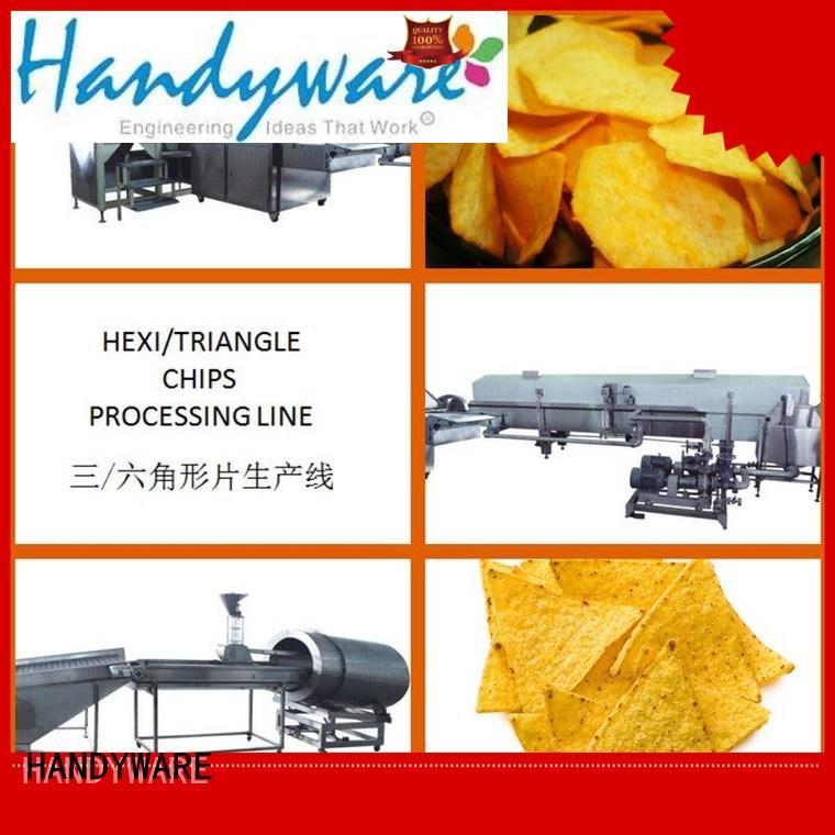 chips potato processing tortilla machine for sale HANDYWARE