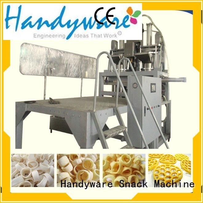 puffed machine food twin screw extruder HANDYWARE