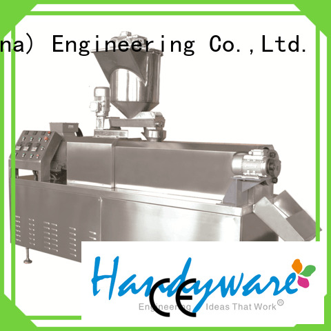 screw twin puffed HANDYWARE Brand twin screw extruder
