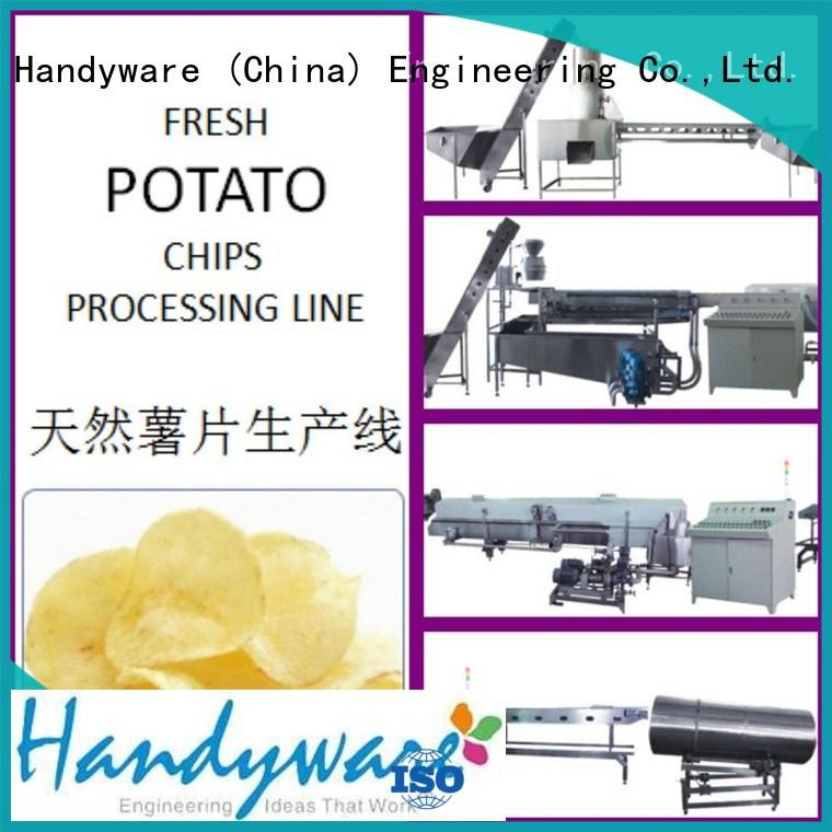 HANDYWARE 250500kgshr commercial chip fryer foreign trader for chips