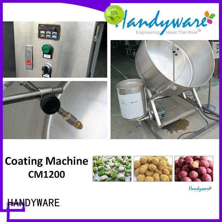 Hot nut coating equipment automatic HANDYWARE Brand