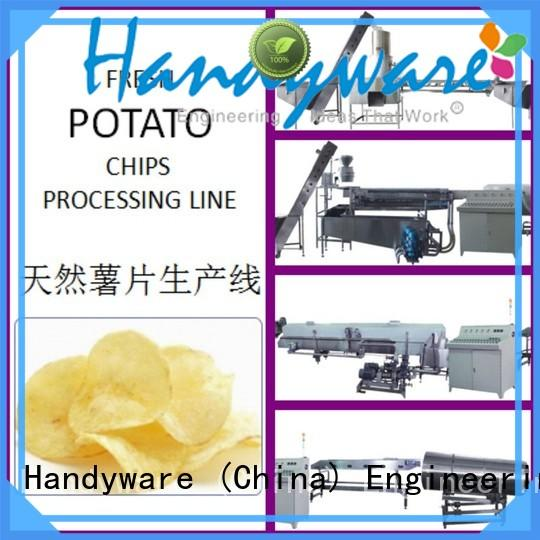 HANDYWARE the outstanding quality automatic potato chips making machine wholesaler for food