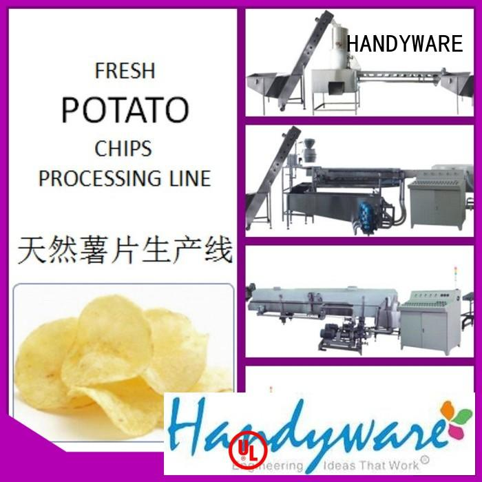 HANDYWARE Brand fabricated 250500kgshr industrial deep fat fryer canned