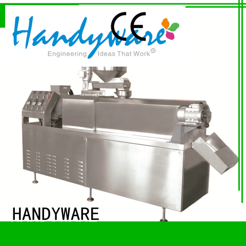 pellets packing 250500kgshr HANDYWARE Brand industrial deep fat fryer factory