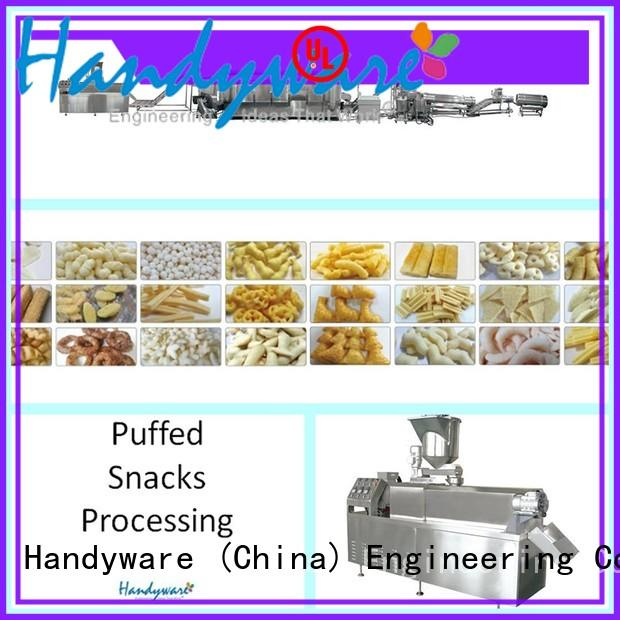 easy to use snack extruder machine chips foreign trader for chips
