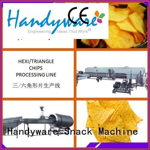 potato hexagon chips tortilla machine for sale HANDYWARE Brand company