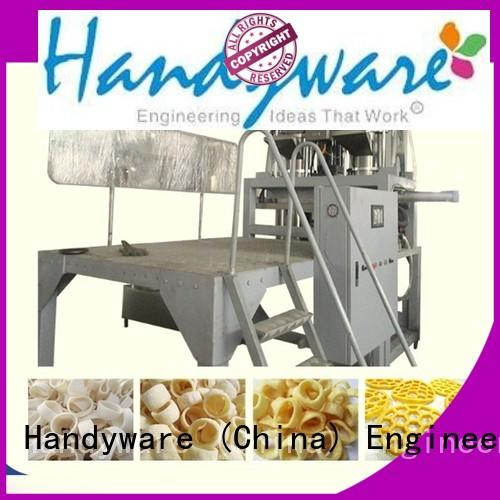 machinery puffed machine twin screw extruder HANDYWARE