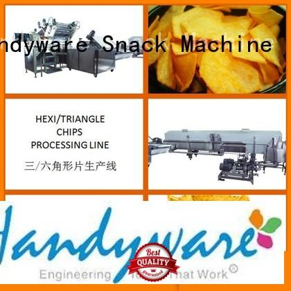 line hexagon processing automatic chips making machine HANDYWARE Brand