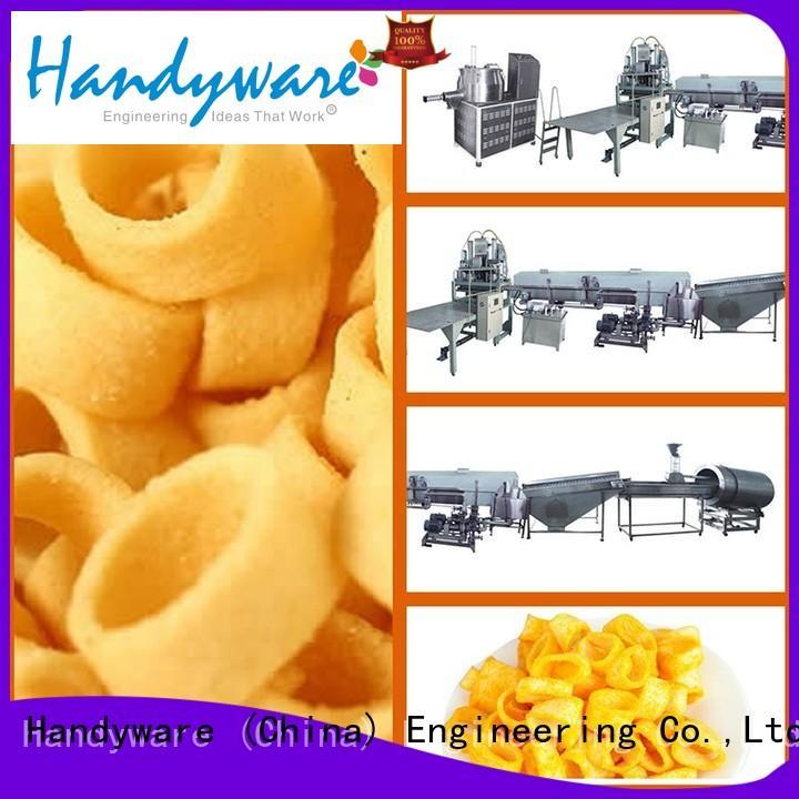 HANDYWARE Brand extruder production line custom potato chips manufacturing machine