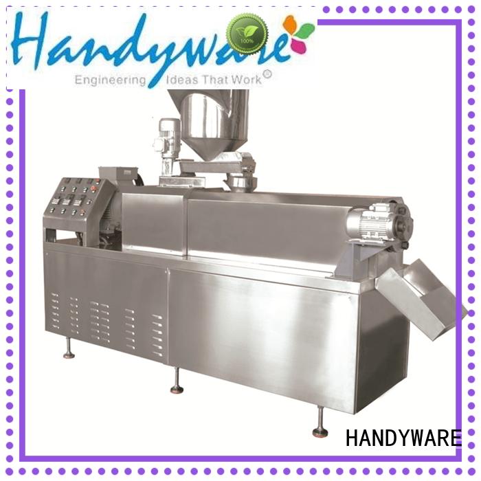 line snack HANDYWARE Brand twin screw extruder