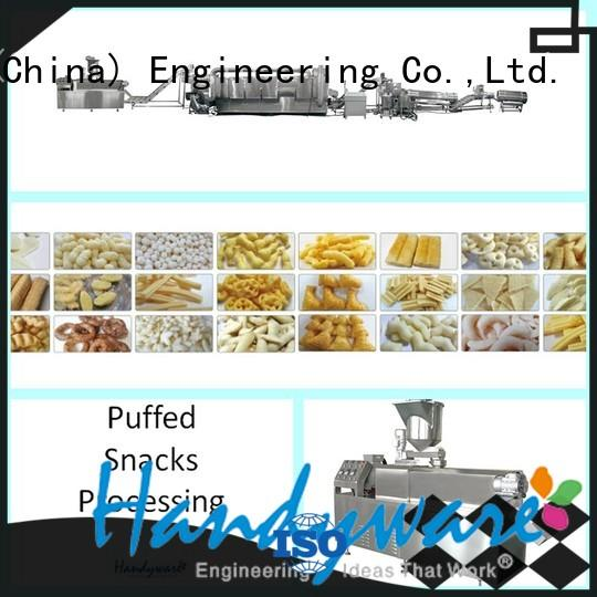 HANDYWARE twin screw extruder manufacturer for potato