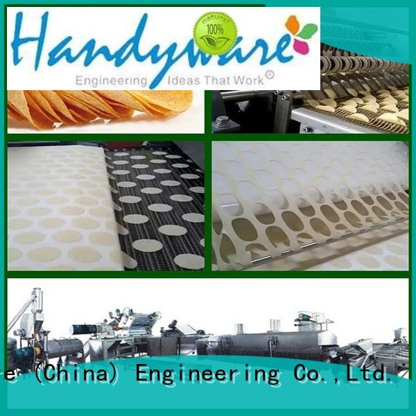 HANDYWARE processing automatic potato chips making machine trader for importer