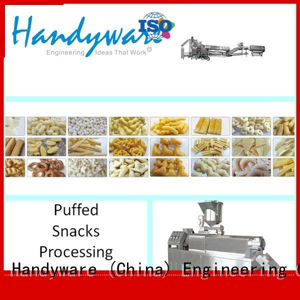 HANDYWARE Brand baking double screw extruder machine puffed production