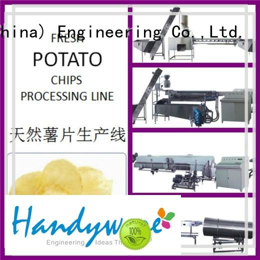 HANDYWARE fabricated potato chips machine for sale trader for food