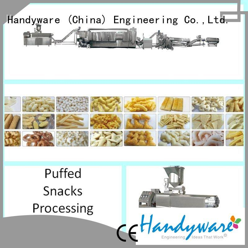 double screw extruder machine quality snack direct HANDYWARE Brand company