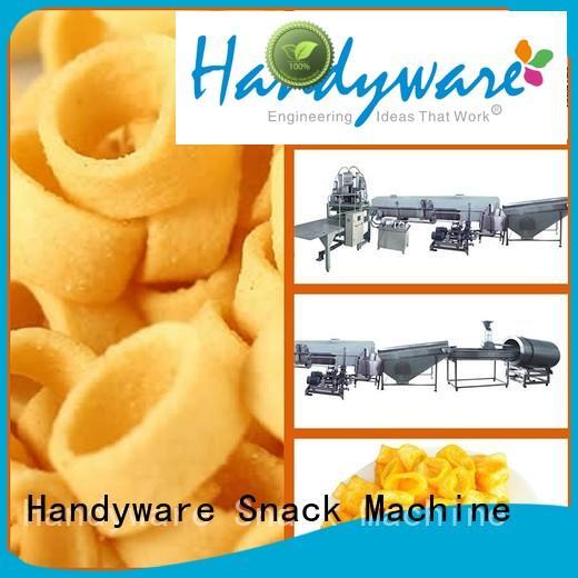 HANDYWARE Brand line extruder potato potato chips manufacturing machine ringstickflat