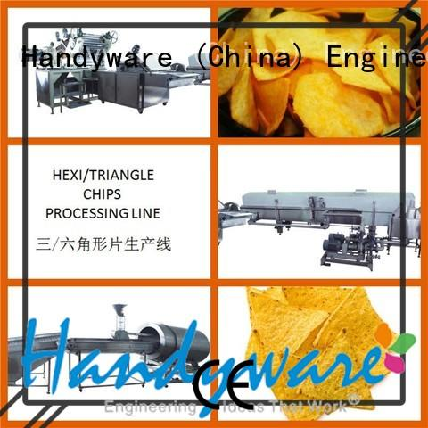 HANDYWARE unique design corn chips making machine processing