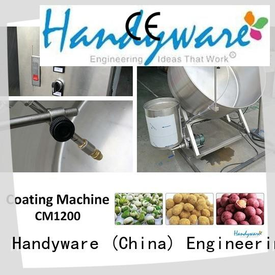 HANDYWARE coating nut coating machine manufacturer for food