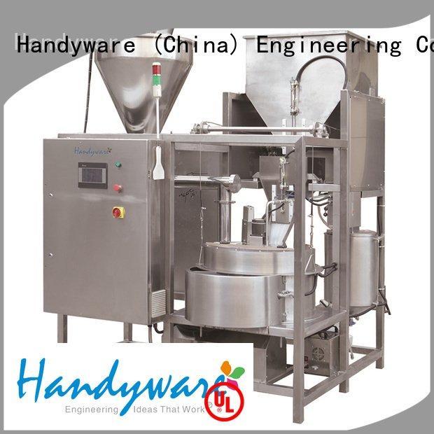nut coating equipment system HANDYWARE Brand