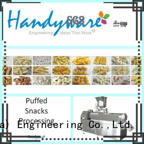 Hot Sale Direct Puffed Snack Food Baking Production Line