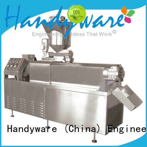 HANDYWARE strong packing snack extruder machine overseas market for food industry