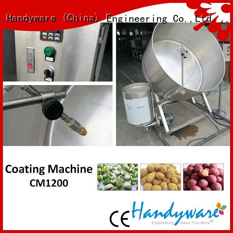 price sale delivery nut coating machine HANDYWARE