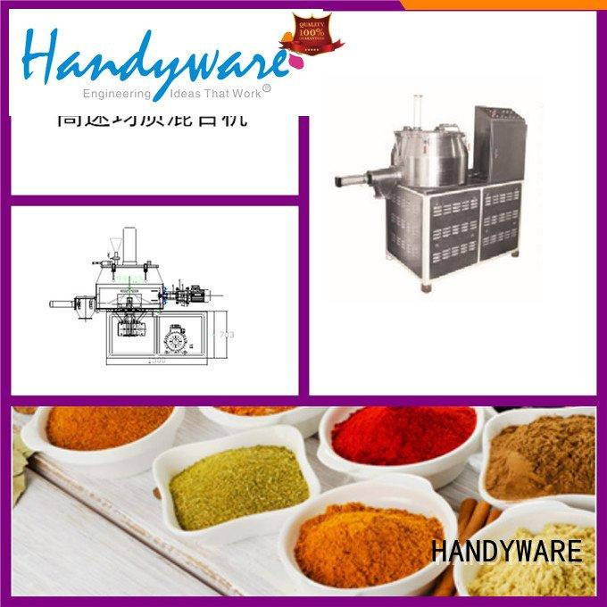 HANDYWARE mixer commercial powder mixer machine stainless load