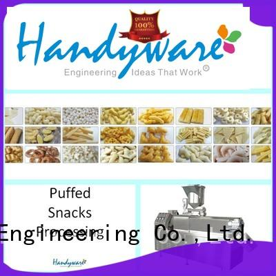 HANDYWARE production double screw extrude manufacturer for food