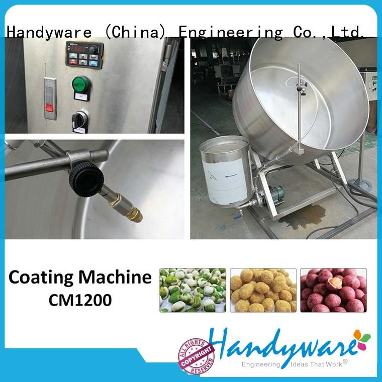 HANDYWARE automatic peanut coating machine manufacturer for food