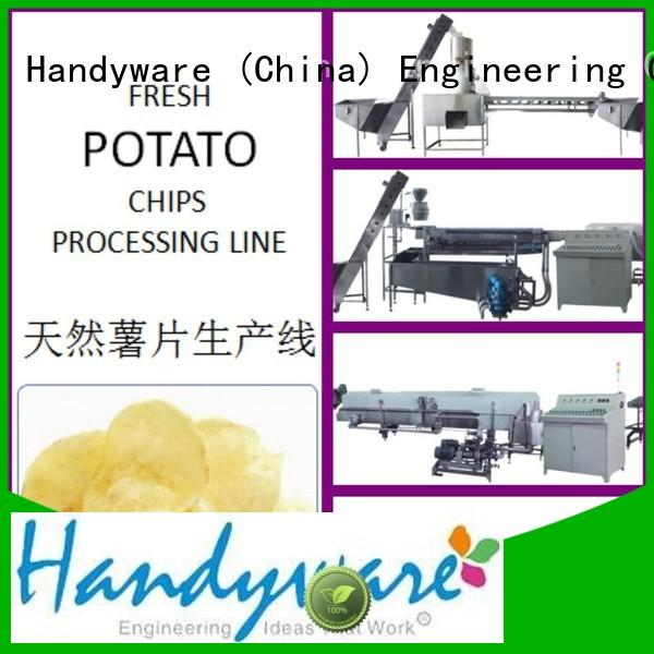 HANDYWARE Brand pringles packing without industrial deep fat fryer 250500kgshr
