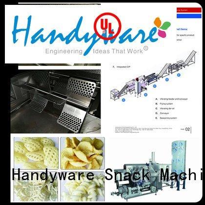 industrial deep fat fryer line multipurpose industrial fryer machine HANDYWARE Warranty