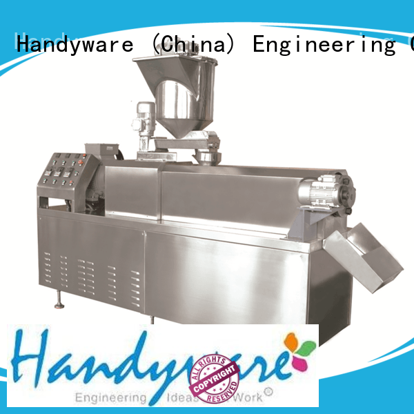 premium quality twin screw extruder snack for food