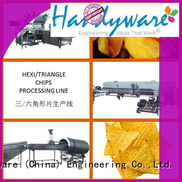 China Manufacturer Hexagon Potato Chips Processing Line