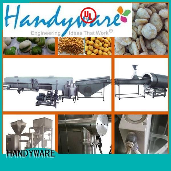 coated line peanuts auto coating machine HANDYWARE Brand